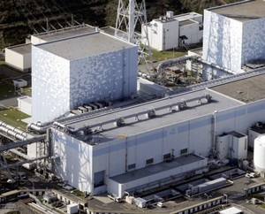 Fukushima Daiichi Nuclear Plant No.4 reactor. Photograph by: KYODO Credit: REUTERS