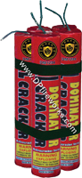 Fireworks - Firecracker Store - Buy firecrackers for sale online at US Fireworks Firecracker Store - Firecrackers are small rolled paper tubes with a fuse that produce a loud bang. Firecrackers can be purchased in packs rolls and strips. - Dominator XL Cracker