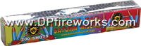 Fireworks - Missiles also know as Satun Missiles send whistling crackling rockets high into the air. We even have color tail Saturn Missiles - 200 shot Color Tail Saturn Missile