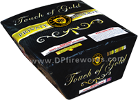 Fireworks - Maximum Load 500g Cakes - Our top selling fire works - Touch of Gold - 500g Cake