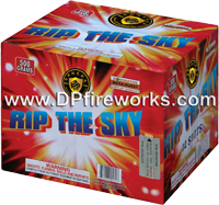 Fireworks - Maximum Load 500g Cakes - Our top selling fire works - Rip The Sky - 500g Cake