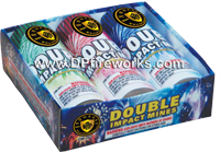Fireworks - 200G Multi-Shot Cake Aerials Store - Buy fireworks cake for sale on-line - Double Impact Mines