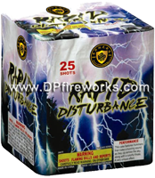 Fireworks - 200G Multi-Shot Cake Aerials Store - Buy fireworks cake for sale on-line - Rapid Disturbance