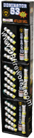 Fireworks - Reloadable Artillery Shells/Mortars Fireworks For Sale- Relodable Kits contain a mortar tube and several shells that are loaded and fired one at a time. - Dominator 63 - Artillery Shells
