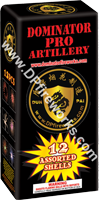 Fireworks - Reloadable Artillery Shells/Mortars Fireworks For Sale- Relodable Kits contain a mortar tube and several shells that are loaded and fired one at a time. - Dominator PRO Artillery - Artillery Shells