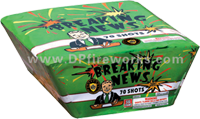 Fireworks - Maximum Load 500g Cakes - Our top selling fire works - Breaking News - 500g Cake