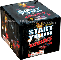 Fireworks - Maximum Load 500g Cakes - Our top selling fire works - Start your engine - 500g Cake