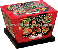 Fireworks - Maximum Load 500g Cakes - Our top selling fire works - Panaromic Sky - 500g Cake