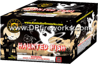 Fireworks - Maximum Load 500g Cakes - Our top selling fire works - Haunted Fish - 500g Cake