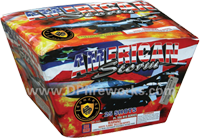 Fireworks - Maximum Load 500g Cakes - Our top selling fire works - American Storm - 500g Cake