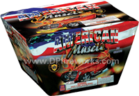 Fireworks - Maximum Load 500g Cakes - Our top selling fire works - American Muscle Car - 500g Cake