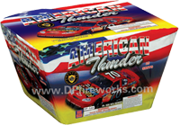 Fireworks - Maximum Load 500g Cakes - Our top selling fire works - American Thunder - 500g Cake