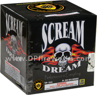 Fireworks - Maximum Load 500g Cakes - Our top selling fire works - Scream Dream