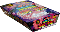 Fireworks - Maximum Load 500g Cakes - Our top selling fire works - Rip Rock and Roll - 500g Cake