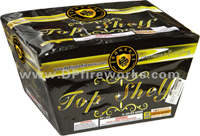 Fireworks - Maximum Load 500g Cakes - Our top selling fire works - Top Shelf - 16s Fan Cake