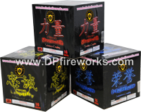 Fireworks - Maximum Load 500g Cakes - Our top selling fire works - Heroes - Asst Case - 500g Cake