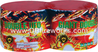Fireworks - Maximum Load 500g Cakes - Our top selling fire works - Giant Double UFO - 500g Cake