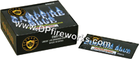 Fireworks - Novelties are not classfied as Fire Works and therefore can be shipped through the mail at lower shipping costs. Lower shipping rates! - Campfire Blue