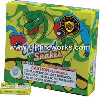 Fireworks - Snakes Fire work For Sale On-line - The classic favoriates! - Snakes - color