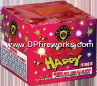Fireworks - 200G Multi-Shot Cake Aerials Store - Buy fireworks cake for sale on-line - 16 Shot Happy