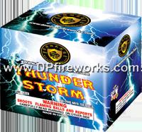 Fireworks - 200G Multi-Shot Cake Aerials Store - Buy fireworks cake for sale on-line - Thunder Storm