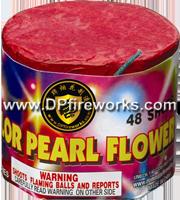 Fireworks - 200G Multi-Shot Cake Aerials Store - Buy fireworks cake for sale on-line - 48 Shot Color Pearl Flower