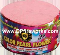 Fireworks - 200G Multi-Shot Cake Aerials Store - Buy fireworks cake for sale on-line - 96 Shot Color Pearl Flower