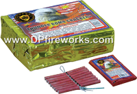 Fireworks - Firecracker Store - Buy firecrackers for sale online at US Fireworks Firecracker Store - Firecrackers are small rolled paper tubes with a fuse that produce a loud bang. Firecrackers can be purchased in packs rolls and strips. - Dominator Firecrackers 16s - Brick