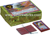 Fireworks - Firecracker Store - Buy firecrackers for sale online at US Fireworks Firecracker Store - Firecrackers are small rolled paper tubes with a fuse that produce a loud bang. Firecrackers can be purchased in packs rolls and strips. - Dominator Firecrackers16s - Half Brick